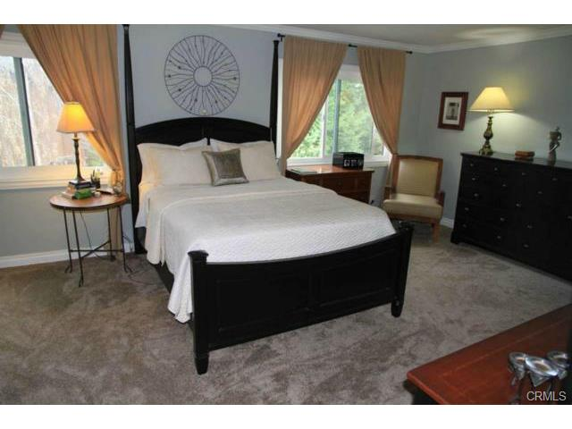 Master bedroom suite with private bath. Two large dual pane wind