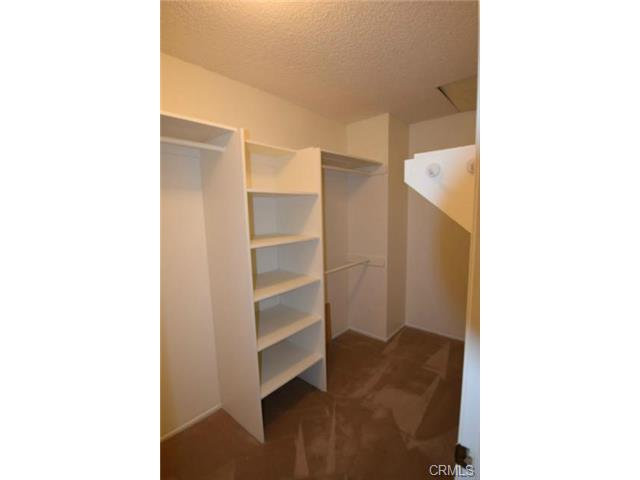 Big walk-in closet in Master Suite